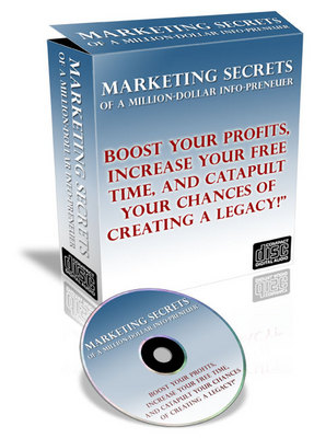 Product picture Million-Dollar Secrets Of An Info-Preneur- Audio With Master Resell Rights