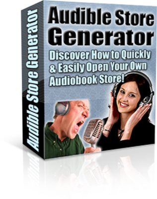 Product picture PLR Instant Audio Book Site Generator with Private Label Rights