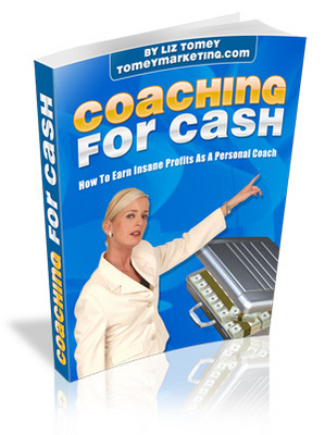 Product picture Coaching for Cash - personal development ebook with Master Resell Rights
