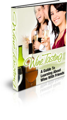 Product picture Learn How to Hold a Wine Tasting Party PLR with private label rights and master resell rights