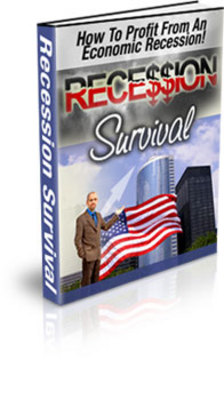 Product picture PLR - Your Recession Survival Guide - with private label rights and master resell rights