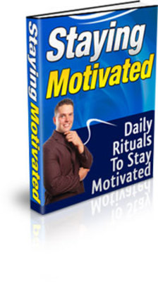 Product picture Discover Daily Rituals to Staying Motivated!  - comes complete with private label rights and master resell rights